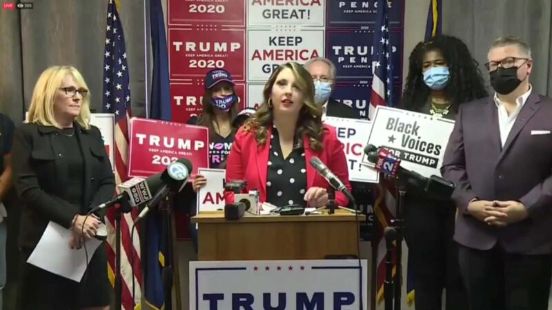 共和黨密歇根州記者會:計票員因反對作弊被趕走