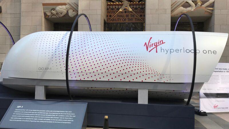 维珍超级高铁首载人测试成功 未来纽约到华府仅30分钟