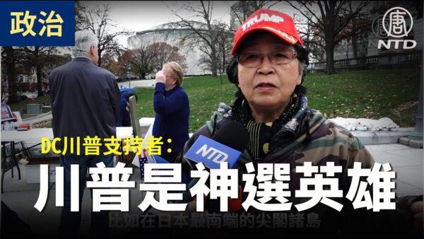 【停止窃选访谈】DC川普支持者:川普一定要连任 制止共产主义