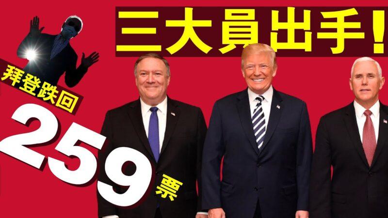 【老北京茶館】川普微笑反擊 彭斯蓬佩奧同發聲!