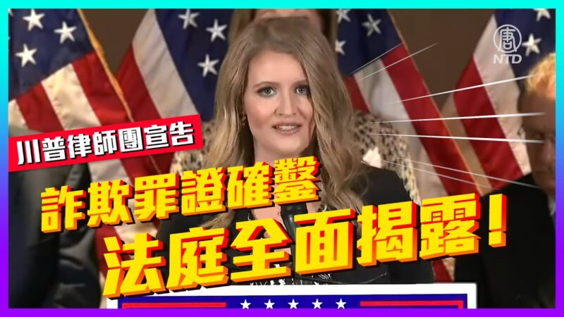 【老外看美國大選】川普律師:詐欺罪證確鑿 法庭全面揭露!