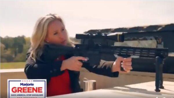 反共持槍女議員力撐川普 披露丈夫「被投票」