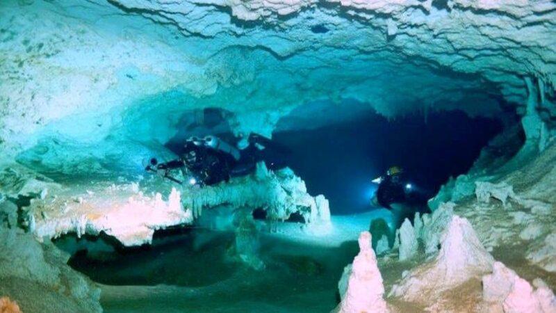 世界最長「水底洞穴」驚現瑪雅人的「陰間之路」