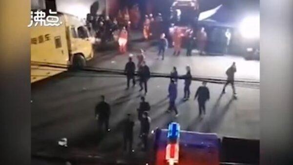 重慶突發嚴重礦難 至少18名礦工死亡(視頻)