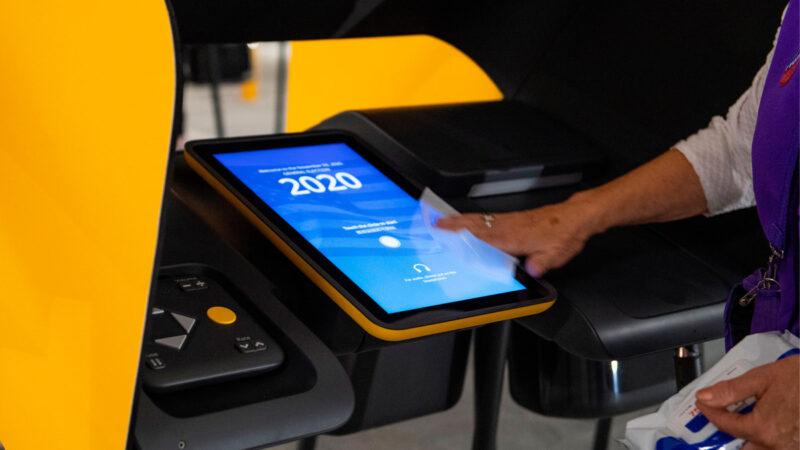 黑入乔州投票机 研究员证实操纵选票可能性