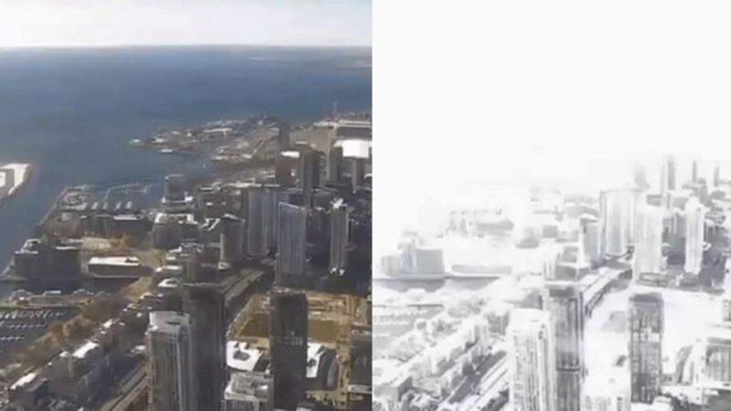 天降异象?川普演讲当天 纽约流星大爆炸(视频)