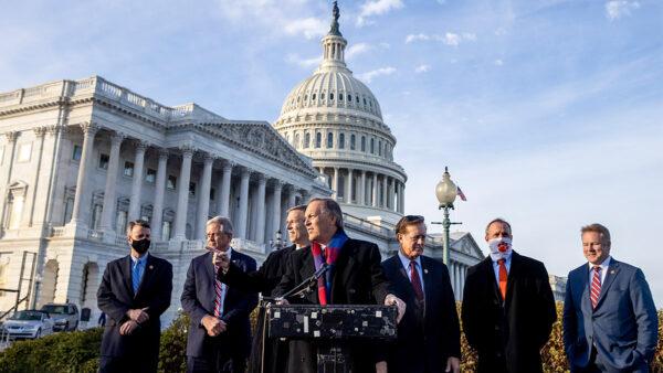 众议院自由核心小组敦促司法部调查大选舞弊