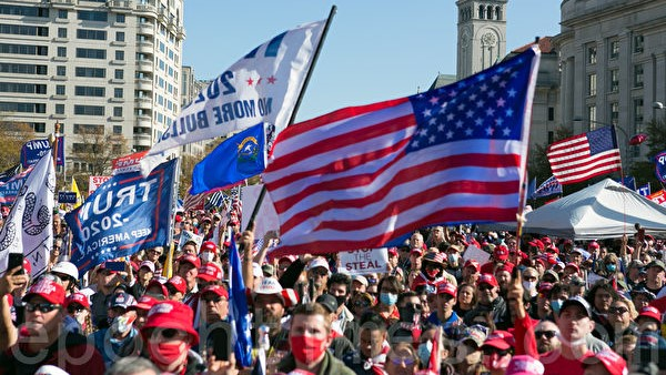 黃天辰:《魔戒》在美國大選中重新演繹?