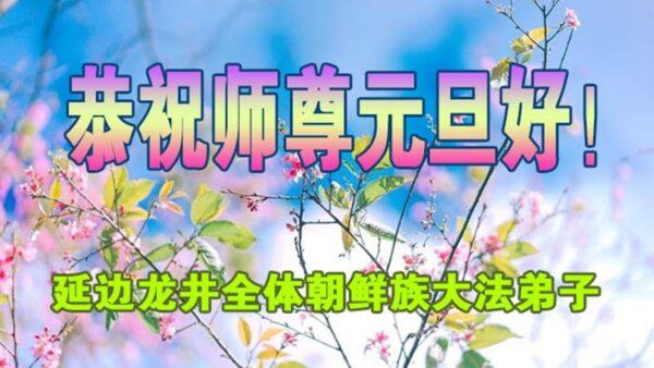 中国各民族大法弟子恭祝师尊新年好