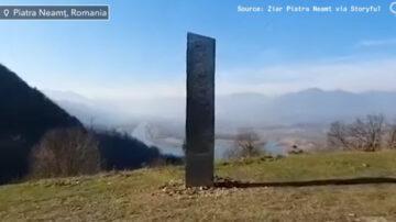 神祕金屬巨柱再現蹤 這次出現在羅馬尼亞