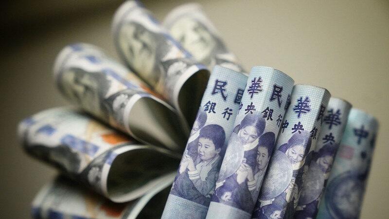 國際熱錢滾滾 新台幣收28.44元23年新高