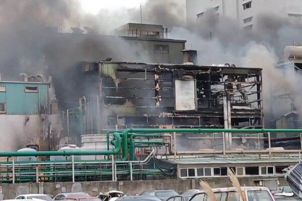 旭富製藥生產線燒毀 估損8億需半年重建