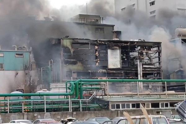旭富制药生产线烧毁 估损8亿需半年重建