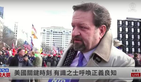 【制止窃选 直播片段】受访民众:只有共产主义才有敌人名单/大纪元和新唐人能够代表我们的未来