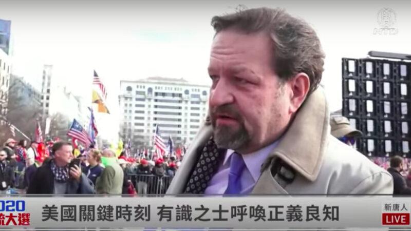 【制止竊選 直播片段】受訪民眾:只有共產主義才有敵人名單/大紀元和新唐人能夠代表我們的未來