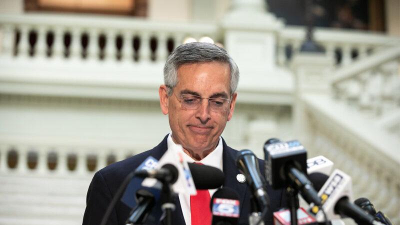 喬州州務卿作秀 批富爾頓縣重新計票「圖省事」