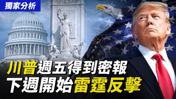 【秦鵬直播】獨家分析:川普週五得到密報 下週開始反擊