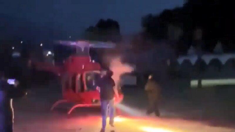 直升机刚落地 墨西哥富商边走边拍遭螺旋桨爆头身亡
