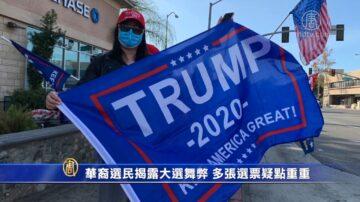 【選民心聲】華裔選民揭露大選舞弊 多張選票疑點重重