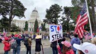 停止竊選 加州首府再集會 呼籲公平選舉