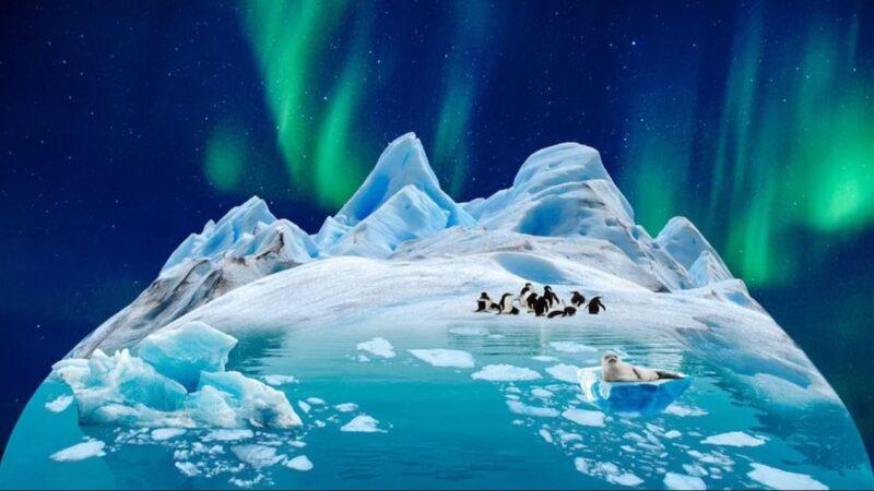 神秘外星种族在南极建有地下基地 用于人类基因实验?