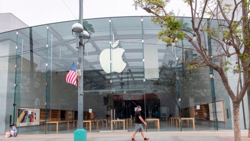 加州疫情蔓延 苹果暂关53家门市和英国16店面