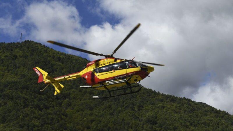 法國直升機墜毀阿爾卑斯山 5死1重傷