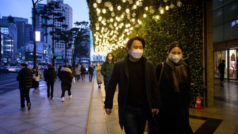 疫情扩散 韩国单日新增631人 首尔破天荒宵禁