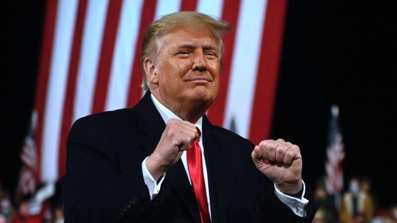 【川普夫妇乔州助选】川普总统发表精彩演讲