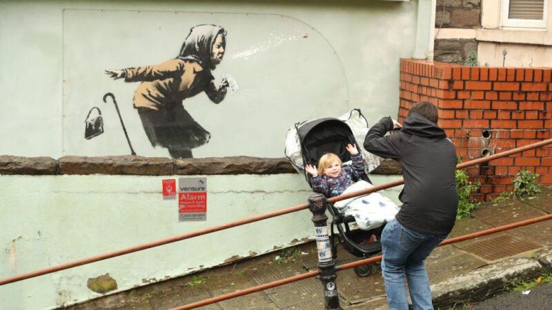 英国一房屋遭涂鸦 房价一夜飙升500万英镑