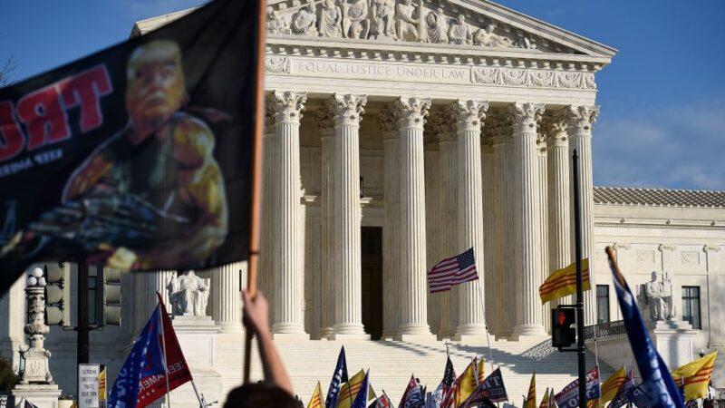 川普向最高法院提訴 要求推翻賓州裁決 由議會另擇選舉人