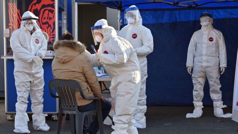 韩国疫情居高不下 重症及死亡人数大增