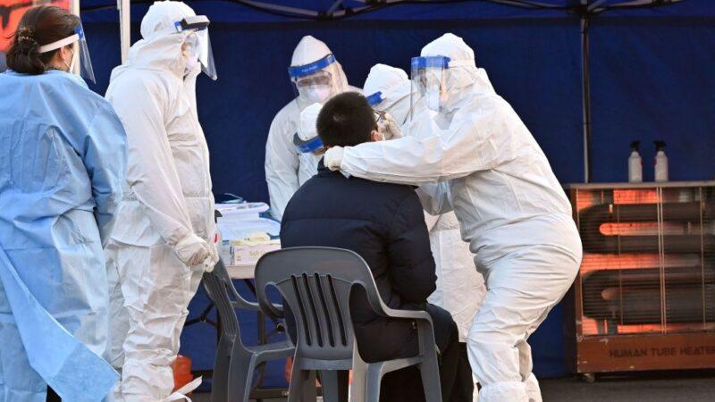 韩爆疫情扩散危机 单日确诊上看1200例