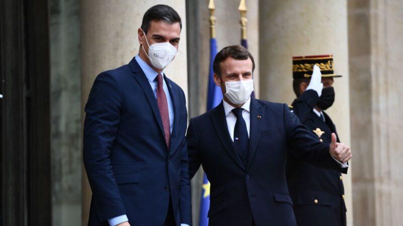 法国总统确诊染疫 与西班牙总理接触 双双自主隔离