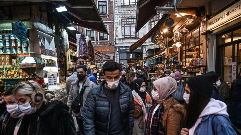 疫情严峻 土耳其跨年封锁80小时