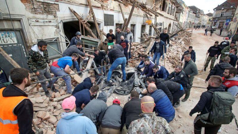 克羅埃西亞6.4強震 釀7死26傷半個城鎮不見