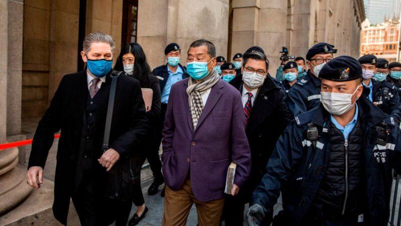 香港終審法院裁決出爐 黎智英再遭關押