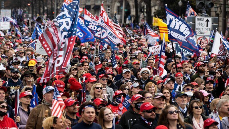 【大選更新12.13】美國各地同步集會 民眾向神祈禱 堅信川普必勝