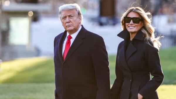 川普与第一夫人发圣诞视频:感恩上帝和美国人