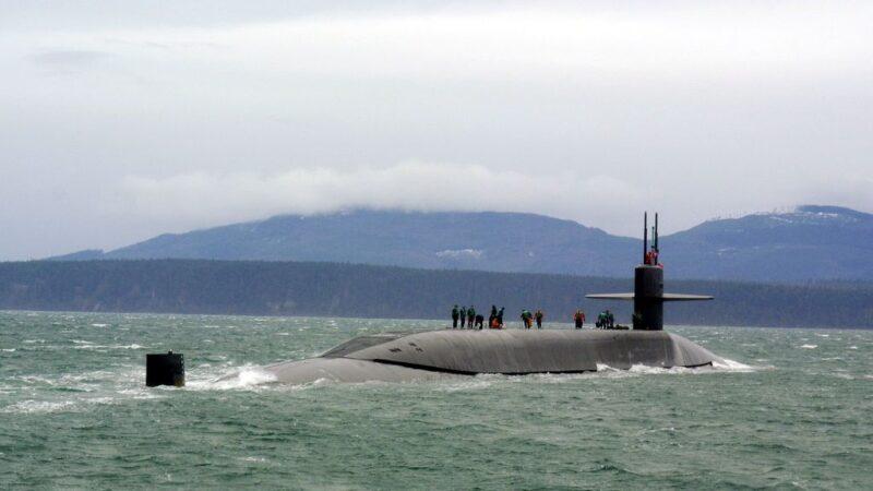 示警伊朗 美海军罕见披露核潜舰动态
