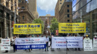 大陸留學生:全球華人都應敬佩法輪功