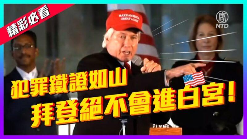 【老外看美国大选】林伍德震撼演说:大选舞弊铁证如山 拜登绝不会进白宫!