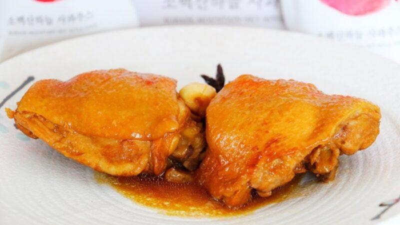 【美食天堂】苹果汁烧鸡腿做法~一锅煮!简单美味人人爱!