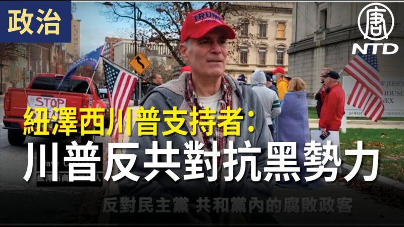 【停止窃选】纽泽西川普支持者:川普反共 对抗所有黑势力
