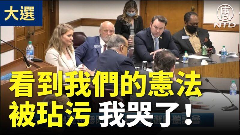【乔州听证会】多位证人的精彩证词:看到我们的宪法被玷污 我哭了!