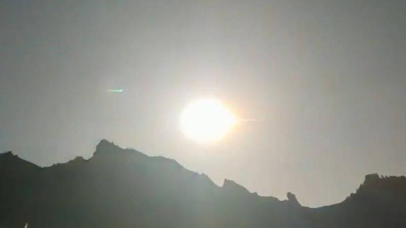 专家:青海大火球或重逾10吨 坠落点大爆炸