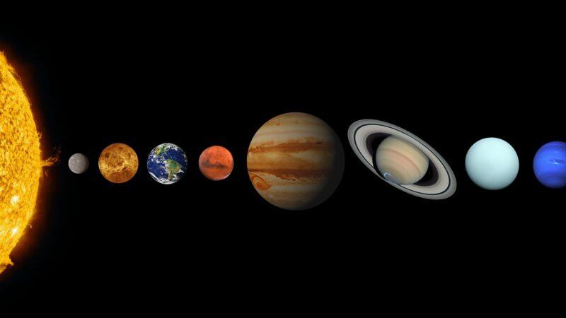 800年來罕見天象 木星與土星相合