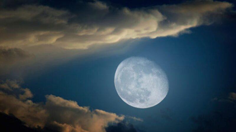 1110年月亮神秘消失 天文学家还原真相