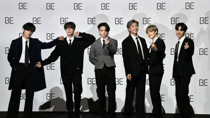 BTS专辑连5年Gaon榜夺冠 美国实体销量也第一