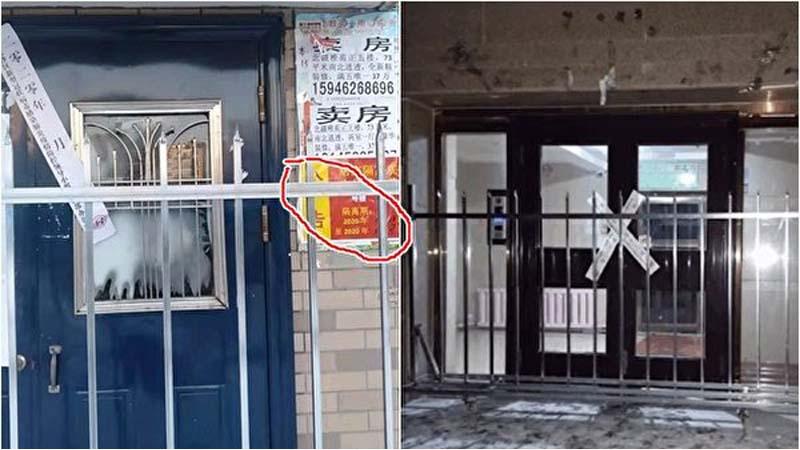 齐齐哈尔上周已封城 凌晨1时偷偷焊死楼门